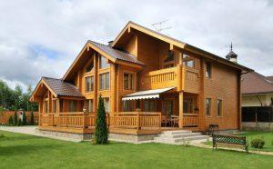 Проекты строительства домов из клееного бруса