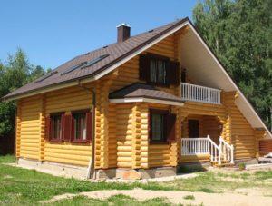 Преимущества и недостатки зимнего строительства домов из клееного бруса