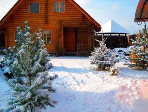 Как подготовить дом из бруса к зиме