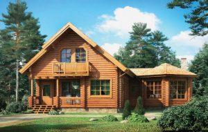 Финская технология строительства деревянных домов