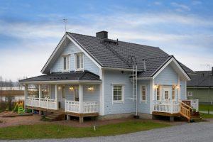 Деревянные дома Финляндии